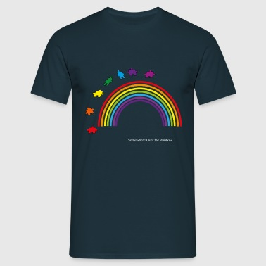 Autism Rainbow - Men's T-Shirt