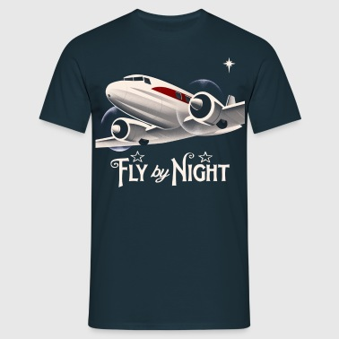 fly by night t-shirt - Men's T-Shirt