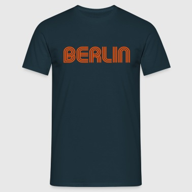 Berlin 70 Tecken Lounge - T-shirt herr
