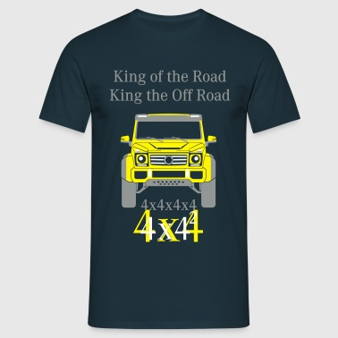 King of the Road - King the Off Road - Männer T-Shirt
