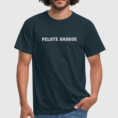 pelote basque - T-shirt Homme