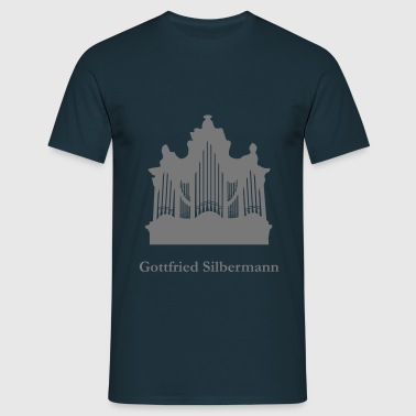 Gottfried Silbermann - Hofkirche Dresden Organ - Men's T-Shirt
