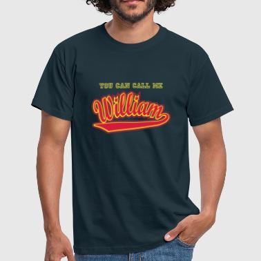 Williams William - T-shirt personalised with your name - Men's T-Shirt