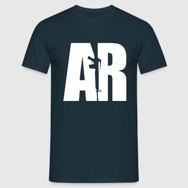 AR15 WHITE - Men's T-Shirt