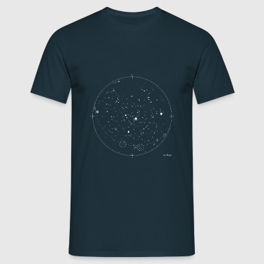 stellar map - T-shirt Homme