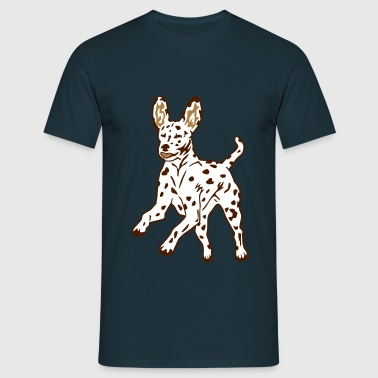 Dalmatian Dog Puppy - Herre-T-shirt
