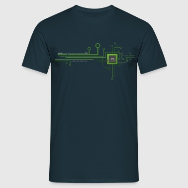 Works with CPU Shirt - Men's T-Shirt