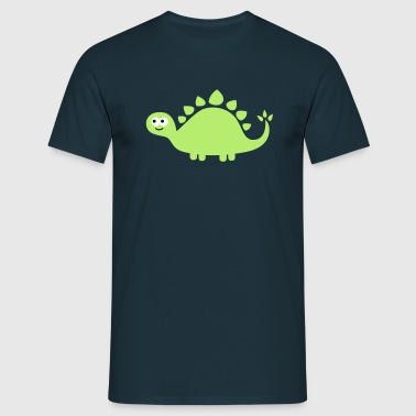 Funny cute dinosaur - Men's T-Shirt