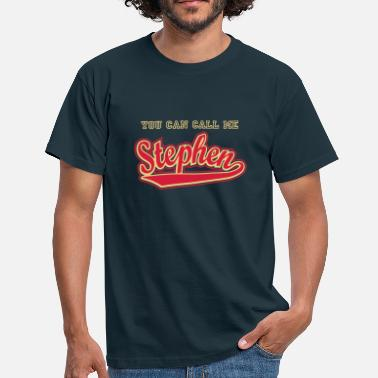 Stephen Stephen - T-shirt personalised with your name - Men's T-Shirt