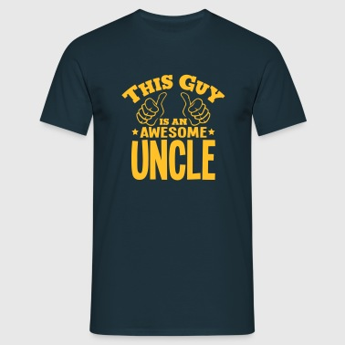 this guy is an awesome uncle - Men's T-Shirt