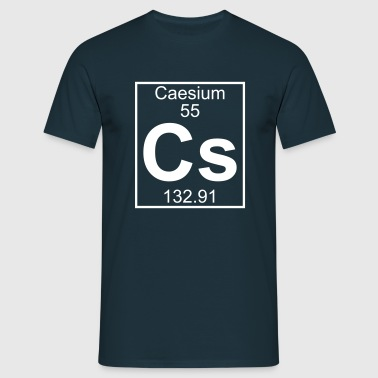 Caesium (Cs) (element 55) - Men's T-Shirt