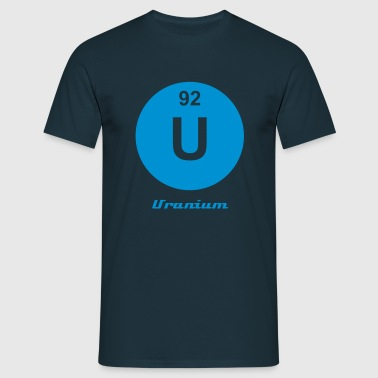 Uranium (U) (element 92) - Men's T-Shirt