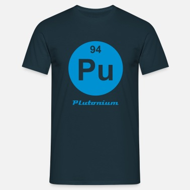 Plutonium Plutonium (Pu) (element 94) - Men's T-Shirt