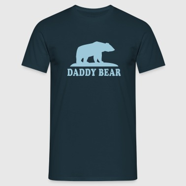 DADDY BEAR - Herre-T-shirt