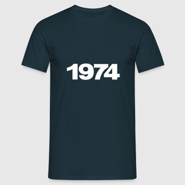 1974 Deutschland - Men's T-Shirt