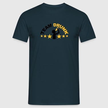 Team Drunk - Men's T-Shirt