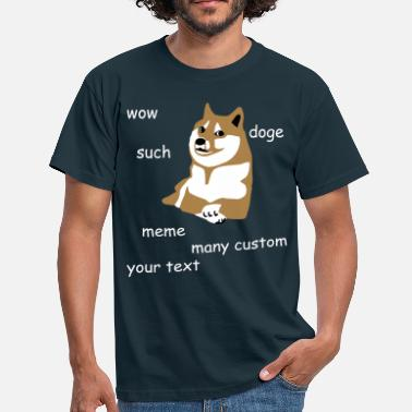 Dog Meme Doge - internet meme - Men's T-Shirt