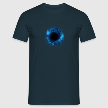 black hole - connection to the source, DD / - Men's T-Shirt