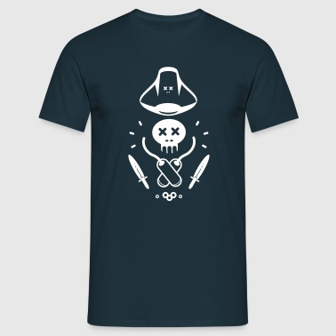 LITTLE PIRATE - Männer T-Shirt