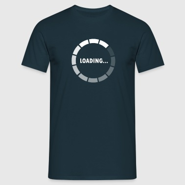 Ajax Loader - loading - waiting - T-shirt Homme
