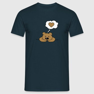 Lonely Bear - Men's T-Shirt