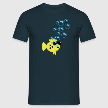 Bubbles / Blasen (B, 2c) - Men's T-Shirt