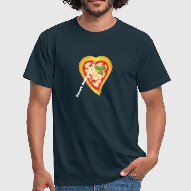 Heart Of Pizza - T-shirt Homme