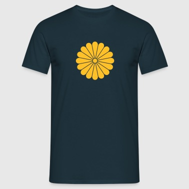 chrysanthemum - Herre-T-shirt