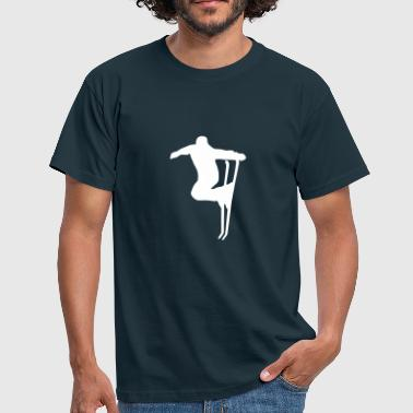 ski, skiing - Men's T-Shirt