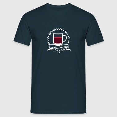A cup of hot mulled wine - Men's T-Shirt