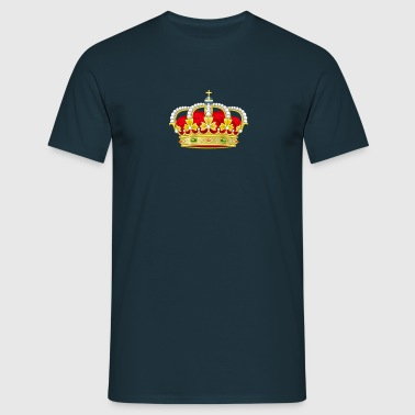 royal crown heraldry king - Men's T-Shirt