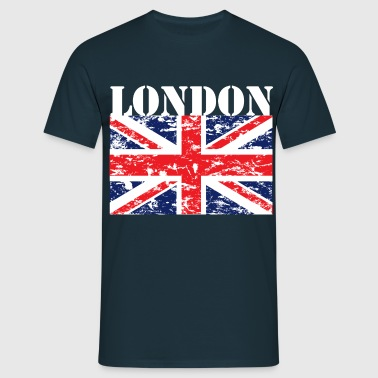 LONDON - GB - UNION JACK - T-shirt Homme