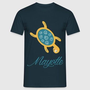 Mayotte Tortue - T-shirt Homme