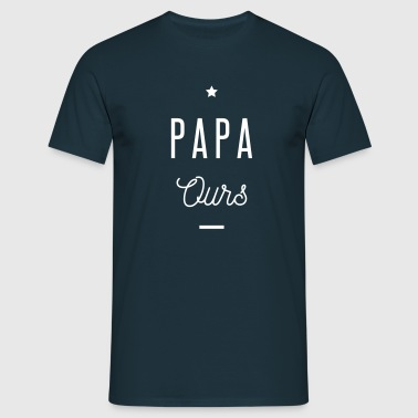 PAPA OURS - T-shirt Homme