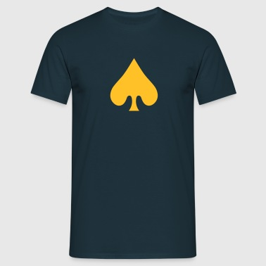 poker card / spades - T-shirt Homme