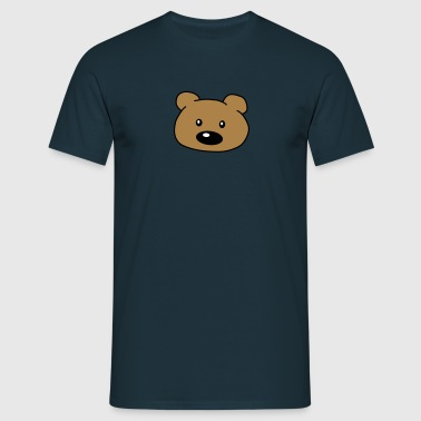 Bear Head - Men's T-Shirt