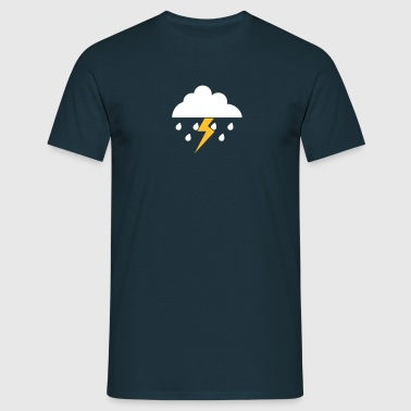 Thunder and lightning - T-shirt Homme