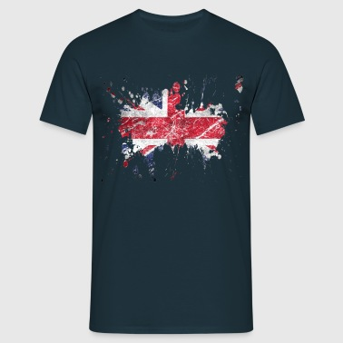 splatter_england - Men's T-Shirt