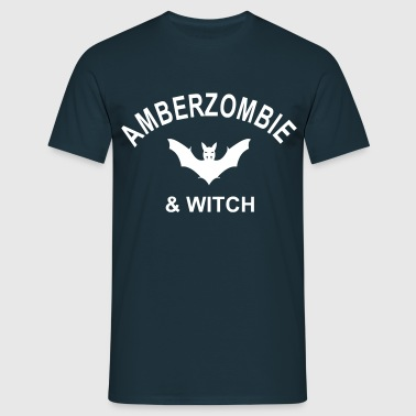 Vampirestyle - Amberzombie & Witch - Männer T-Shirt