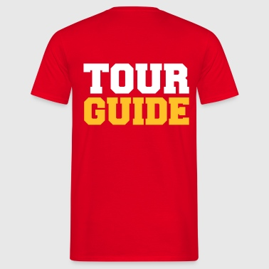 tour-guide - Männer T-Shirt