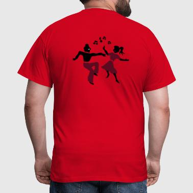 retro dance jive patjila - Men's T-Shirt