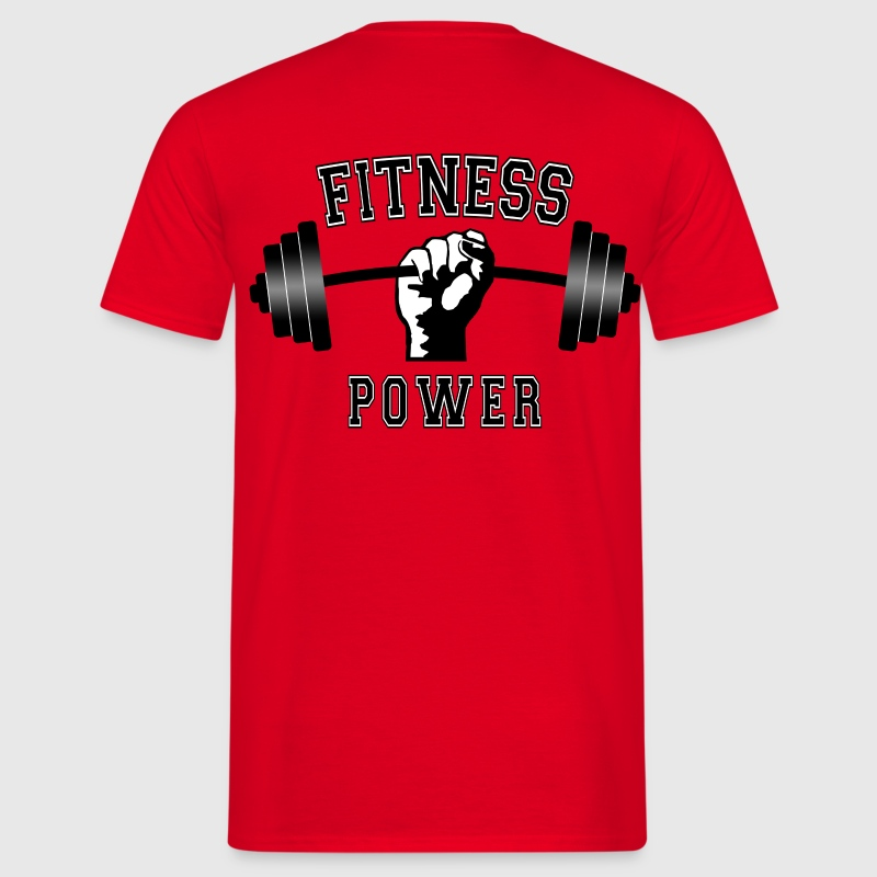 fitness power 01 - T-shirt Homme