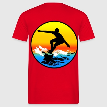 surfing - T-shirt Homme