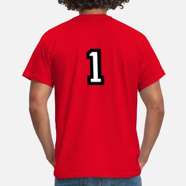 Number 1 Number One 1 - Men's T-Shirt