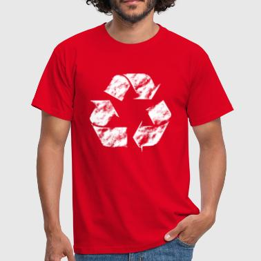 recycling arrow used - Männer T-Shirt