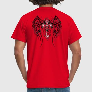 tribal_tattoos_of_angel_wings_2 - T-shirt Homme