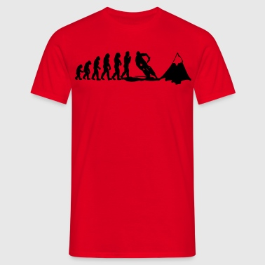 mountainbike evolution - Männer T-Shirt