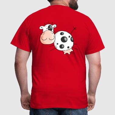Lotta - Cow - Cows - Cattle - Men's T-Shirt
