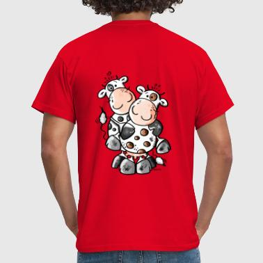 Cuddly Cows - Cow - Men's T-Shirt
