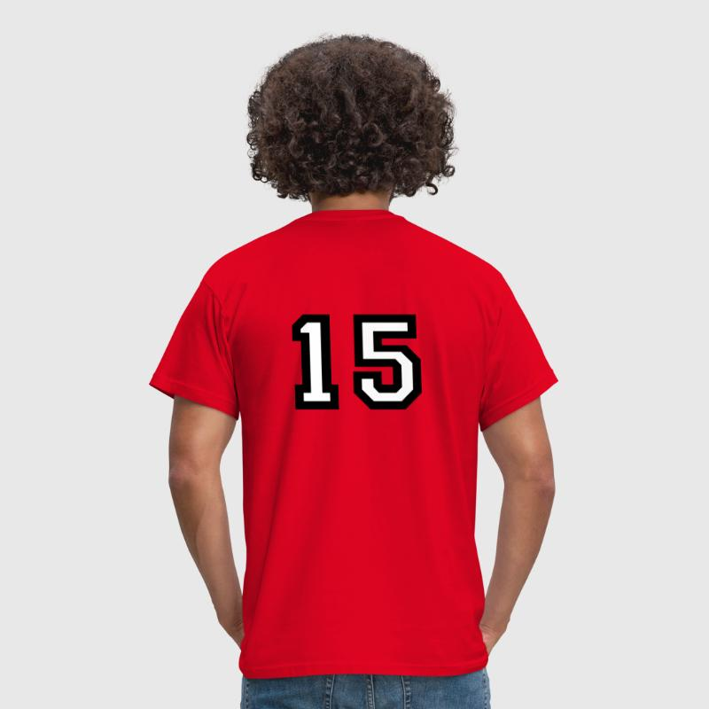 The number 15 - number fifteen - Men's T-Shirt